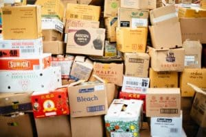 The cheapest way to ship heavy items is to hire a moving company