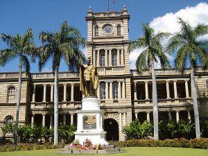 Kamehameha school building