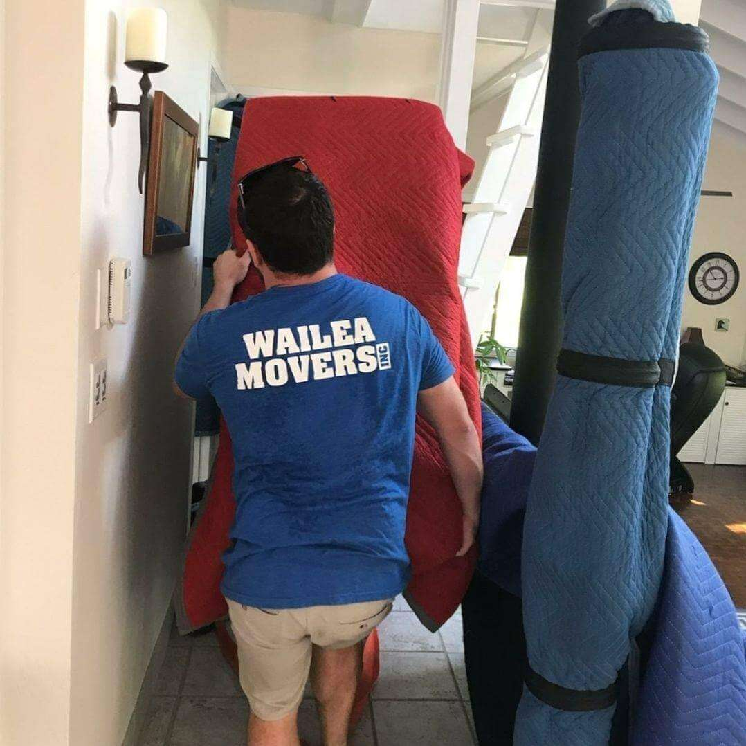 White Gloving Moving Services in Maui, Hawaii
